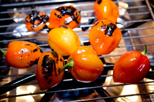 Fire Roasted Ghost Peppers
