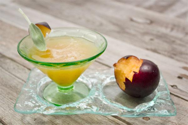 plum sage bourbon smash recipe