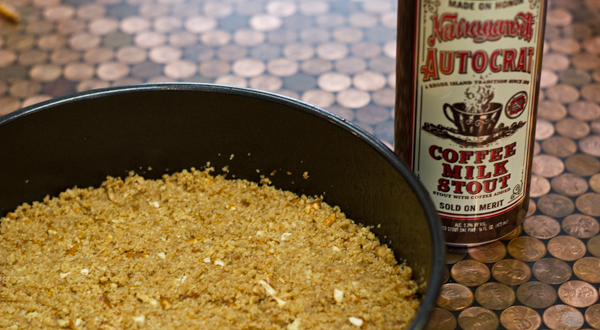 how to avoid coffee flavour in stout recipes