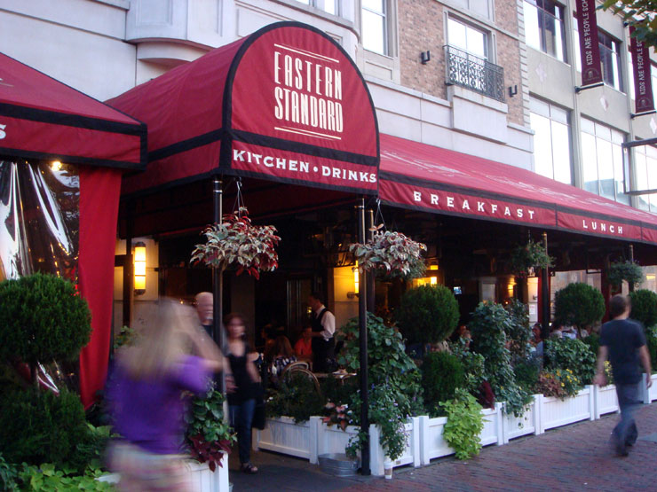 Dining at Boston's Eastern Standard