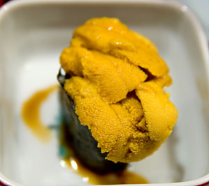 Uni (how to eat low tide)