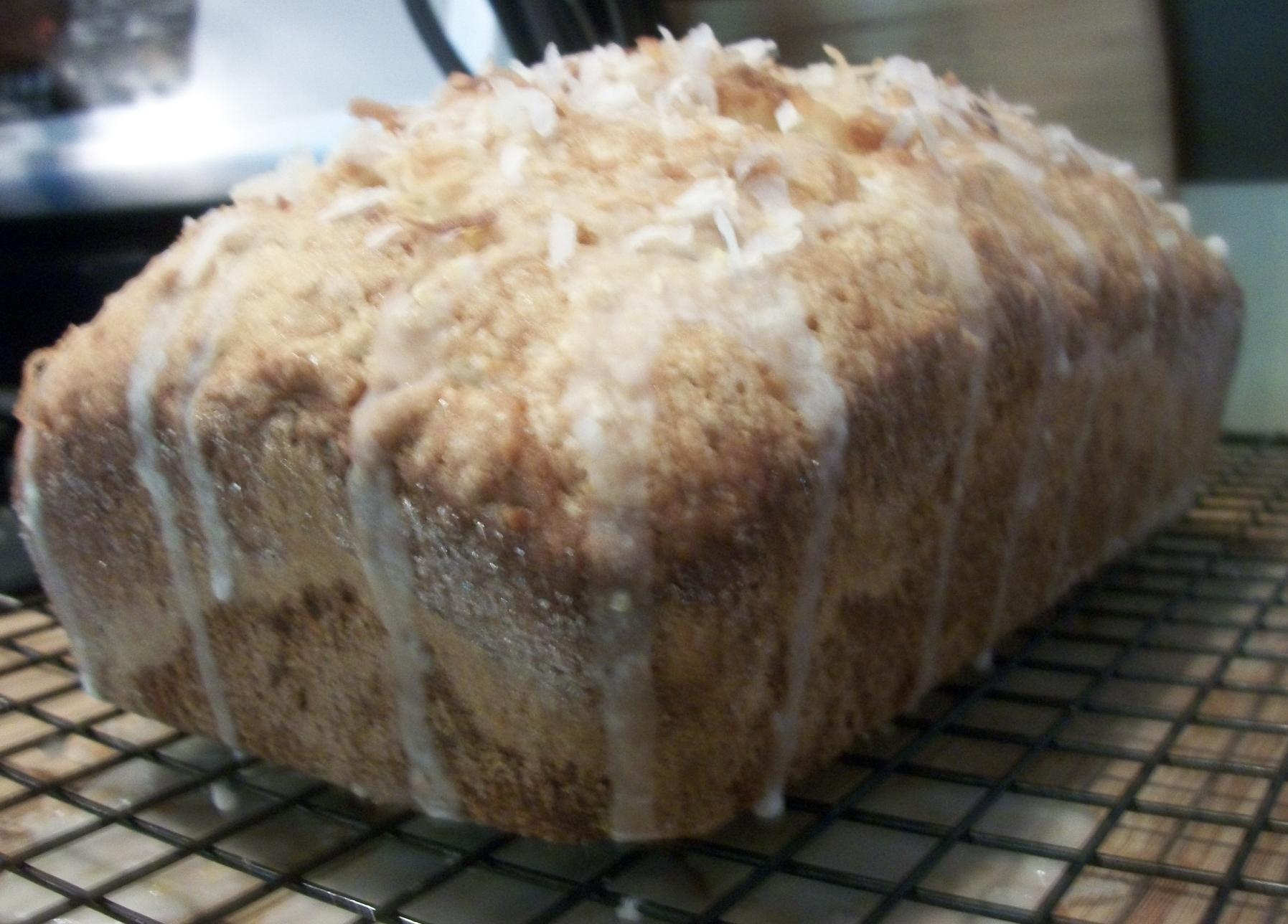 Lemon Coconut Tea Bread