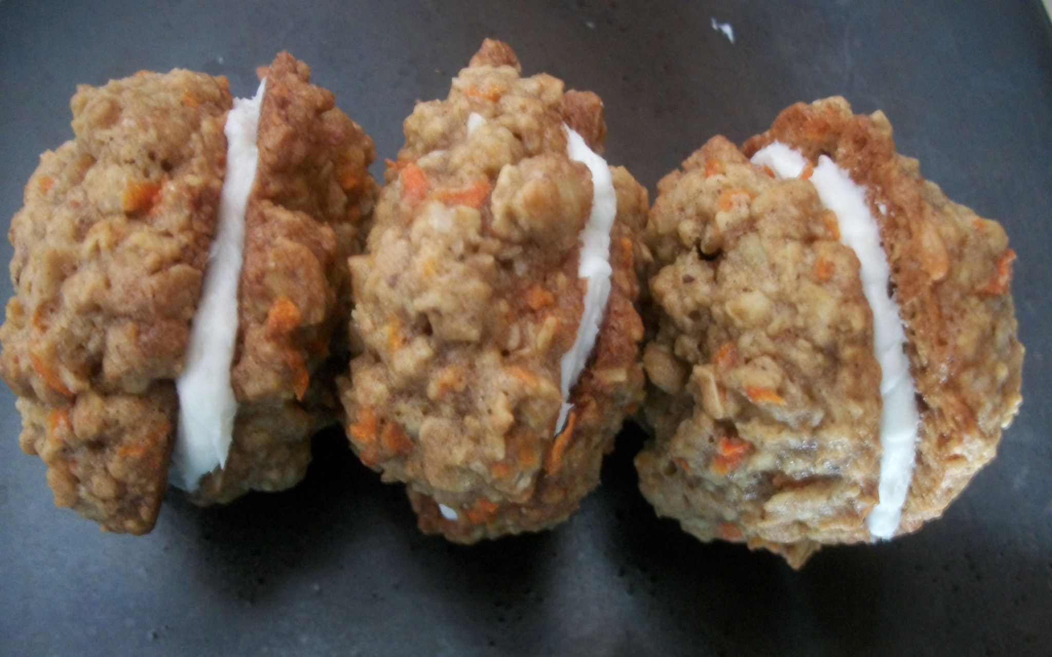 Carrot Cake Cookies: The World's Best Vehicle for Cream Cheese Icing